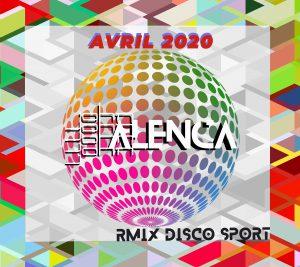 jonathan sicart alias john alenca RMix Disco Sport Flyer avril 2020